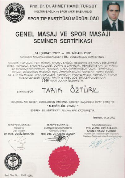 Genel (Klasik) Masaj